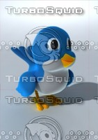 3ds max cartoon bird