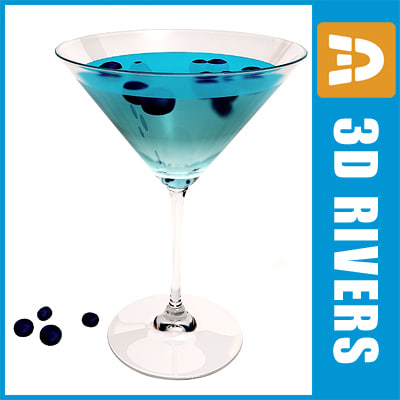 max blueberry martini