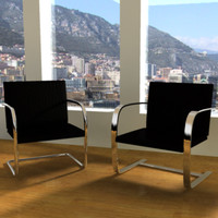 Mies Van Der Rohe BRNO Chairs