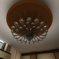 glass chandelier max