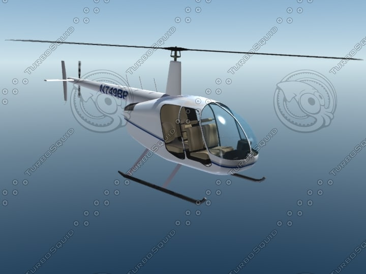 3d model helicopter copter