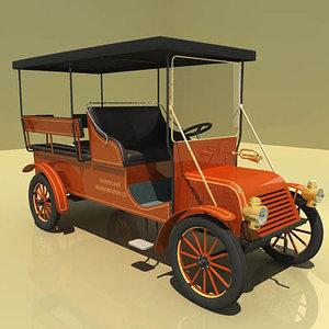 disneyland car 3d max