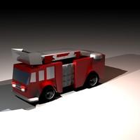 fire truck.obj