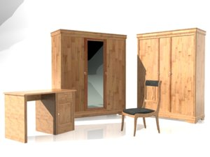 3ds max furniture colection