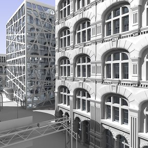 max cityscape intersection
