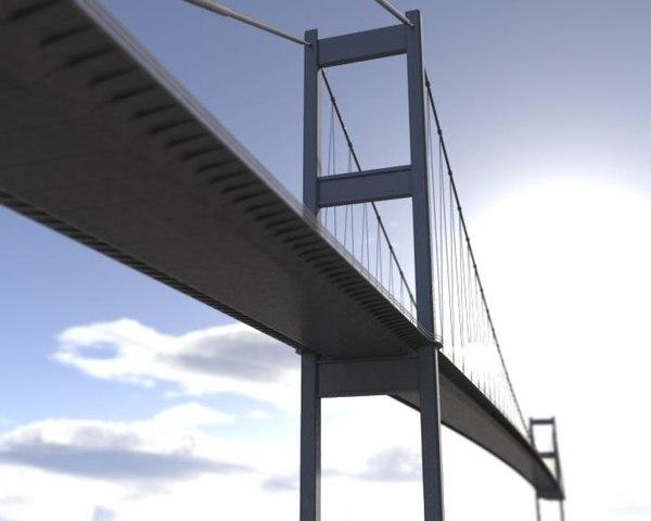 3d istanbul bosphorus bridge