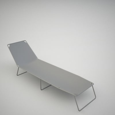 chaise longue 3ds