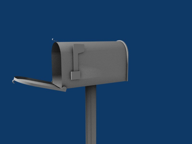 simple mailbox 3ds