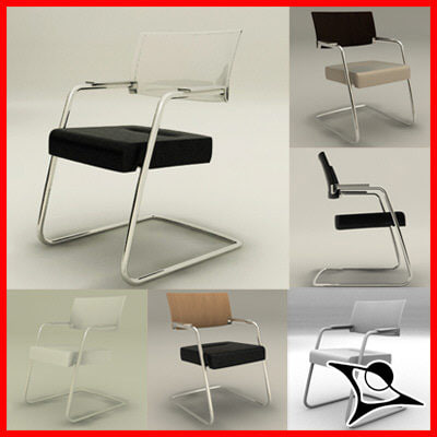 3d max chair lounge