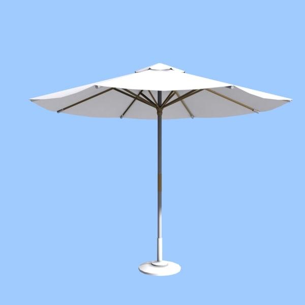 3ds max parasol beach pool