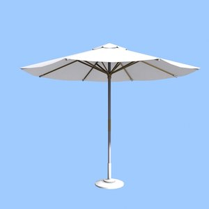 3ds max parasol beach pool