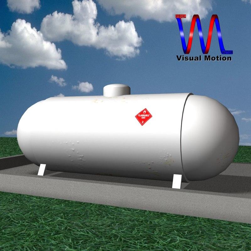 propane tank 3ds