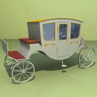 3dsmax tourist carriage