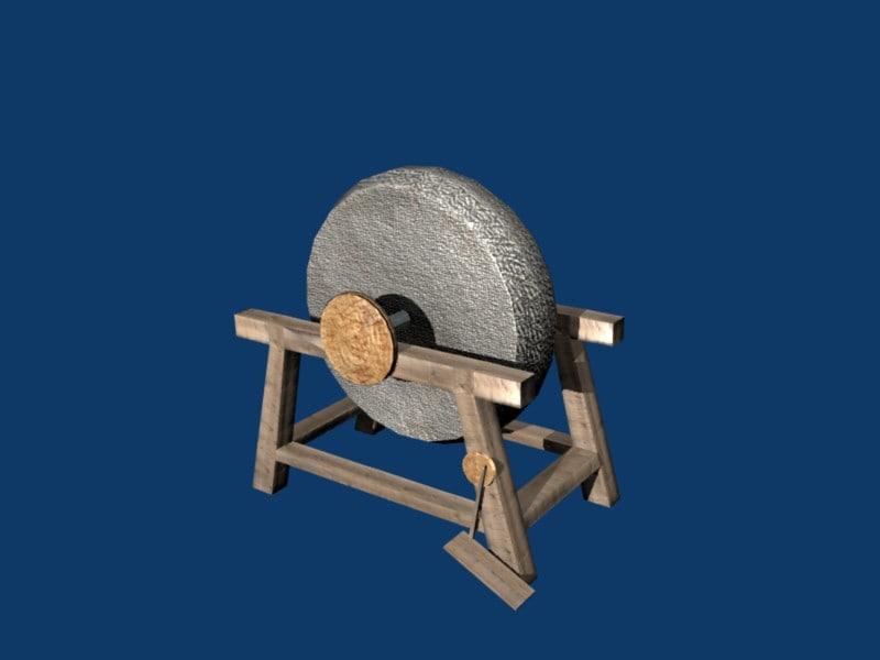free 3ds model grindstone