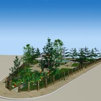3d model of plants