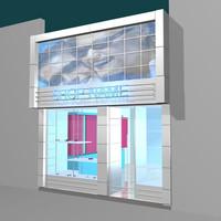 shop 3d model