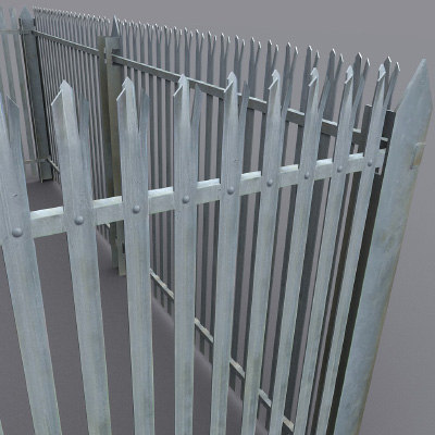 3d max security fence galvanised