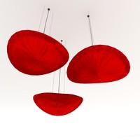 3d model paper lamp