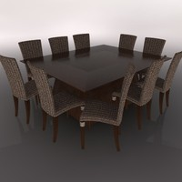 DINING TABLE AND CHAIR SILLA MESA COMEDOR