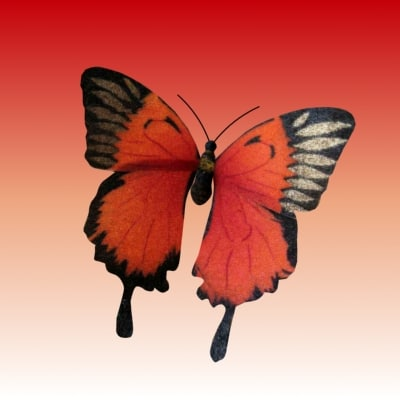 butterfly 3d max