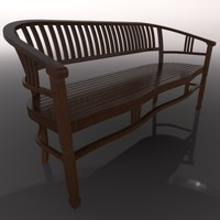 WOODEN BENCH WOOD BANCA