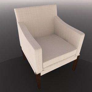 cinema4d chair sillon