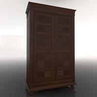 closet armario 3d model