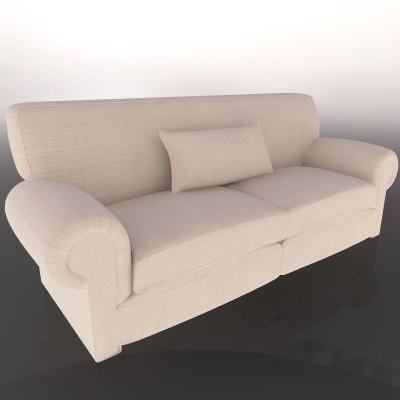 cinema4d sofa