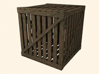 free max mode old wood crate