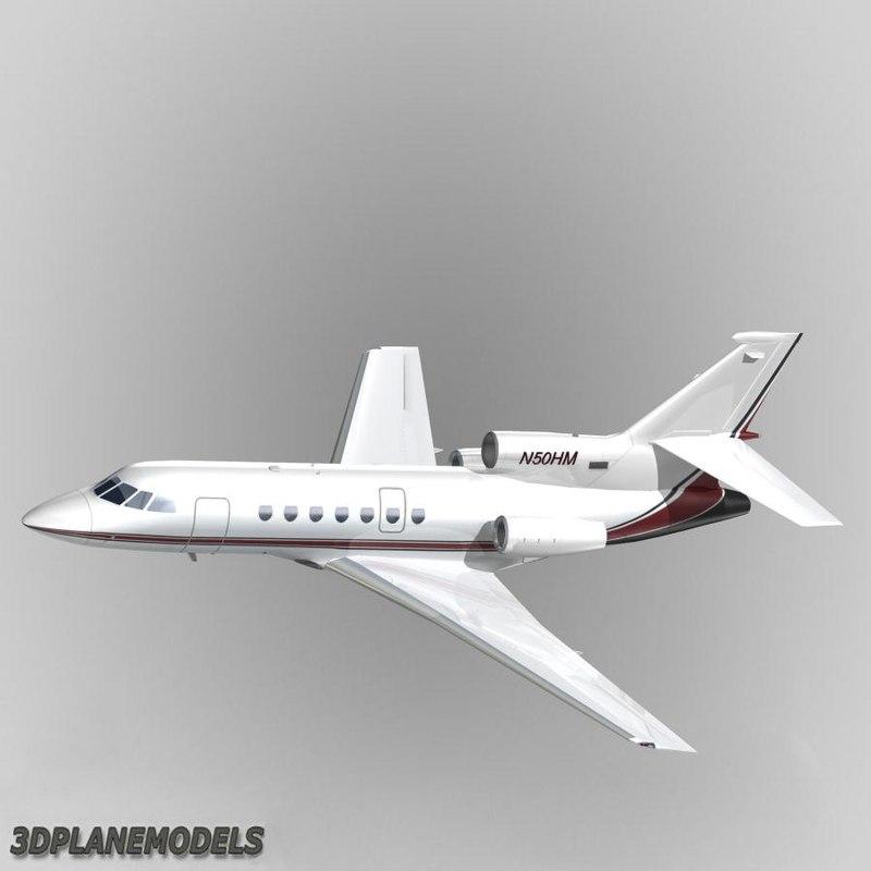 3ds max dassault falcon 50 private