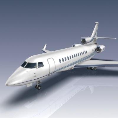dassault falcon 7x business jet max