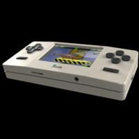 handheld console 3d model