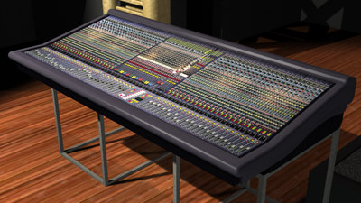 3d midas heritage 3000 mixing model