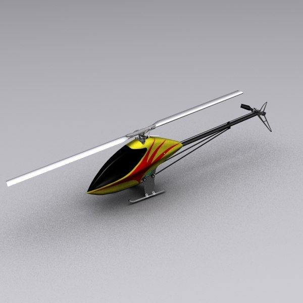 3ds max helicopter rc