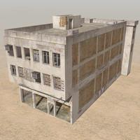3d arab house model