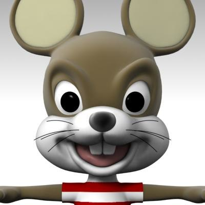 mice cartoon 3d max
