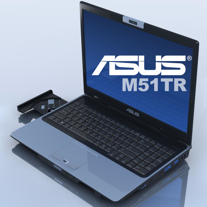 3d notebook asus m51tr