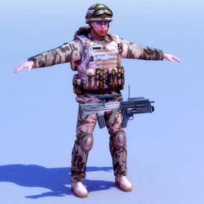 royal commando 3d 3ds
