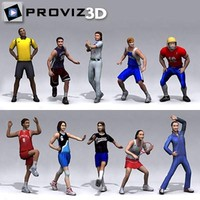 3D People: Sports People Vol. 02