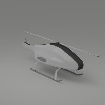 3d model uav skeldar