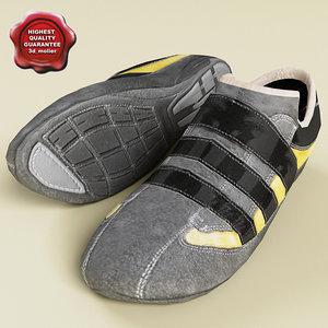 3d model of sport shoe v2