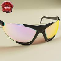 3d model sport glasses