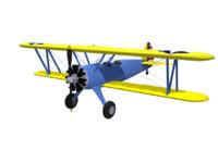 3d stearman bi-plane