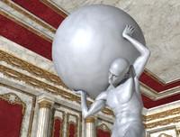 Statue Univers