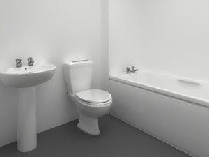 twyford bathroom 3d model