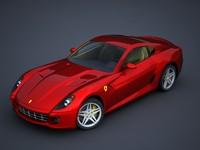 italian sports car 3d max