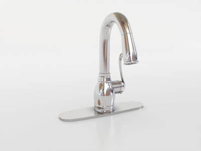 faucet moen anabelle 3d model