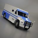 armored van 3d model