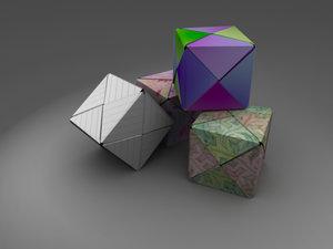 3d origami box