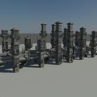 fantasy bridge 3d 3ds